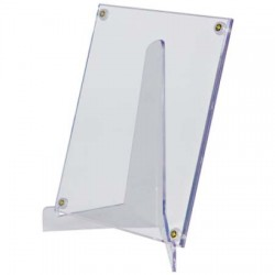 Large Lucite Stand - Card, Photo Holders