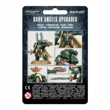Space Marines Dark Angels Upgrades