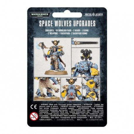 Space Marines Space Wolves Upgrades