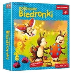 Egmot, gra Kolorowe Biedronki