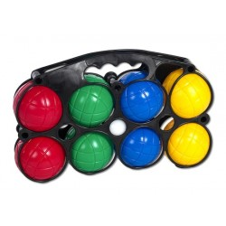 Boule plastikowe kolorowe 8 szt