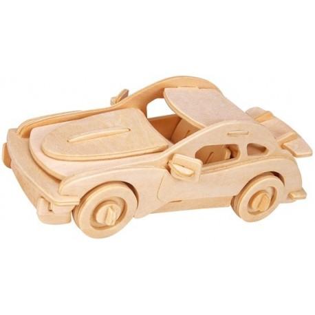 Łamigłówka drewniana Gepetto - Samochód rajdowy (Sports car)