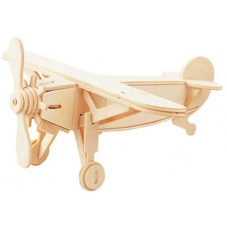 Łamigłówka drewniana Gepetto - Samolot (Aeroplane)