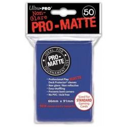 Deck Protector - Pro-Matte Non-Glare Blue 50 (66x91mm) standard