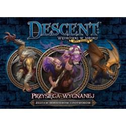 Descent: Przysięga Wygnanej - zestaw bohaterów i potworów