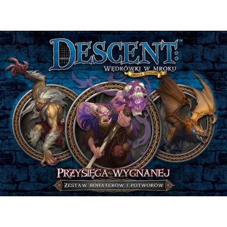 Descent: Przysięga Wygnanej - zestaw poplecznika