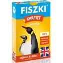 Angielski Fiszki plus Gra Kwartet - Zwierzęta