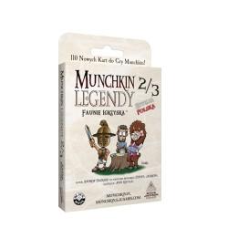 Munchkin 2/3 Legendy Faunie Igrzyska