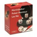 Kości pokerowe - zestaw do gry Lie Me (212)