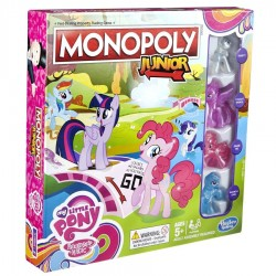 Monopoly Junior My Little Pony Tęczowe Zjeżdżalnie