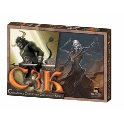 C3K: Creatures Crossover Cyclades/Kemet Cyklady