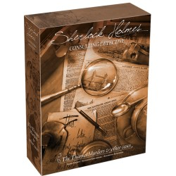 Sherlock Holmes Consulting Detective :The Thames Murders & other cases