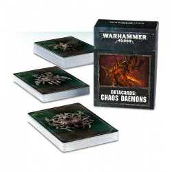 Datacards: Chaos Daemons (English)