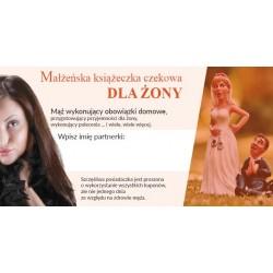 Małżeńska Książeczka Czekowa - Dla Żony