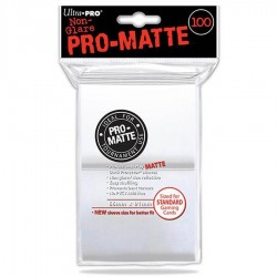 Deck Protector Pro-Matte Clear 100 Standard (66mm x 91mm)