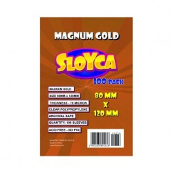 SLOYCA KOSZULKI MAGNUM GOLD (80X120MM) 100 SZT.