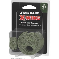 Scum and Villainy Maneuver Dial Upgrade Kit - Star Wars: X-Wing (druga edycja)