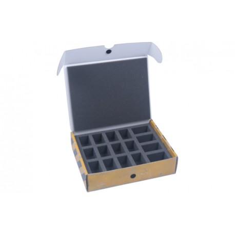 Małe pudełko z pianką na 16 modeli Safe & Sound