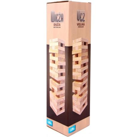 Jenga XL (naturalne drewno)