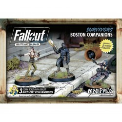 Fallout: Wasteland Warfare - Survivors Boston Companions