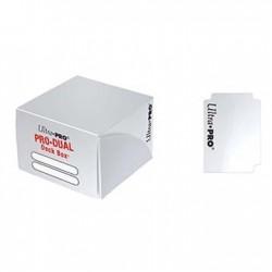 Pudełko na karty Deck Box 180+ PRO DUAL WHITE/BIAŁE