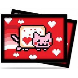 Koszulki na karty NYAN CAT (50szt.)