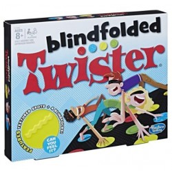 Blindfolded Twister Hasbro
