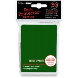 Deck Protector Solid Green/Zielony 50 (66x91mm) standard