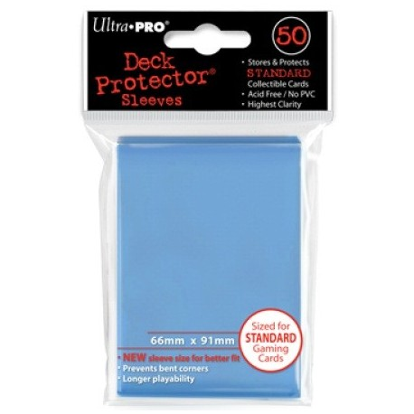 Deck Protector - Solid Light Blue 50