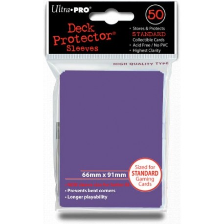 Deck Protector - Solid Purple 50