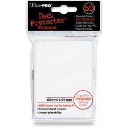 Deck Protector Solid White/Biały 50 (66x91mm) standard
