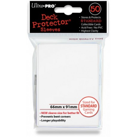 Deck Protector - Solid White 50
