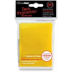 Deck Protector Solid Yellow/Żółty 50 (66x91mm) standard