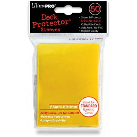 Deck Protector - Solid Yellow 50