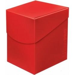 Ultra Pro 100+ Aplle Red/ Czerwone Deck Box