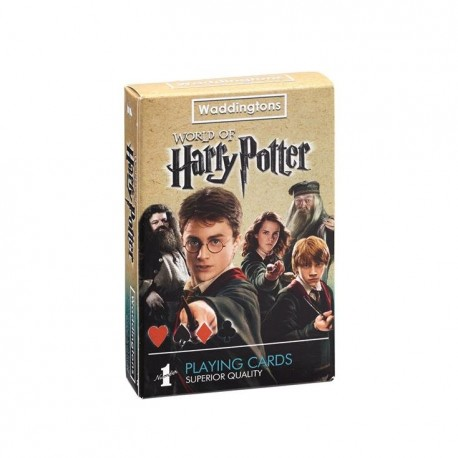 Winning Moves, karty do gry Waddingtons no. 1 Harry Potter