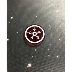 Zestaw żetonów jonów pasujących do gry X-Wing (5szt), Geekmod