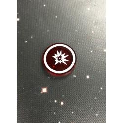 Żeton uszkodzeń krytycznych pasujący do gry X-Wing (1szt), Geekmod