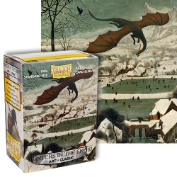 Dragon Shield Standard Art Sleeves - Hunters in the Snow (100 Sleeves)