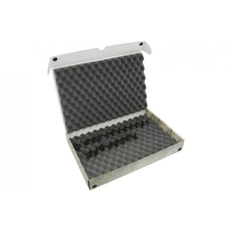 Pudełko z pianka falistą na modele na podstawkach 20/25mm Safe & Sound