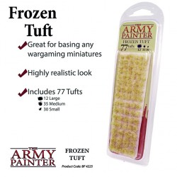 ARMY PAINTER - BASING Winter TUFT 6mm