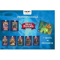 HERO REALMS - ZESTAW 7 DODATKÓW + MATA