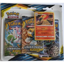 Pokemon TCG: S&M10 Unbroken Bonds 3PK blister - TYPHLOSION[POK80549]