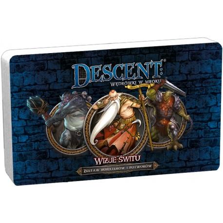 Descent: Wizje Świtu DnŻ- zestaw bohaterów i potworów