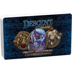 Descent: Okruchy wiecznomroku DnŻ- zestaw bohaterów i potworów