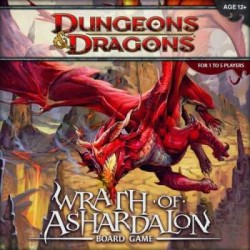 D&D: Wrath of Ashardalon Board Game Dungeons & Dragons