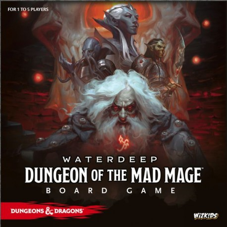 D&D Waterdeep: Dungeon of the Mad Mage Adventure System Board Game Standard Edition