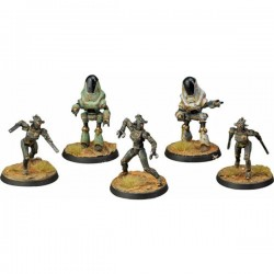 Fallout: Wasteland Warfare - Assaultrons & Protectrons Miniatures (W2)