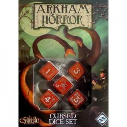 Arkham Horror: Cursed Dice Czerwone Red