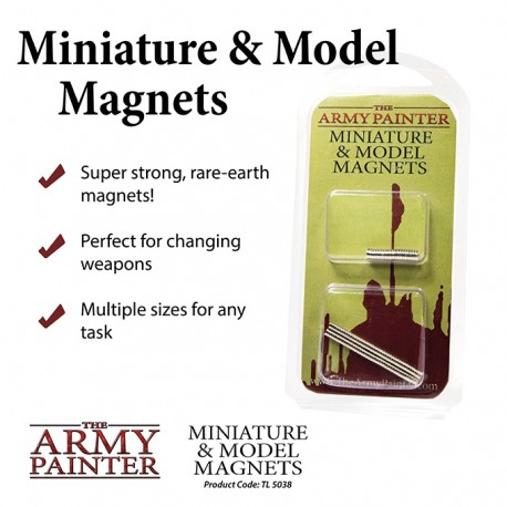 ARMY PAINTER MINIATURE AND MODEL MAGNETS 2019